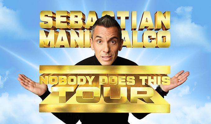 Sebastian Maniscalco tickets at Santa Barbara Bowl, Santa Barbara
