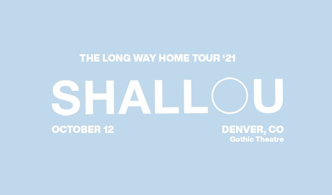 shallou  tickets at Gothic Theatre in Englewood