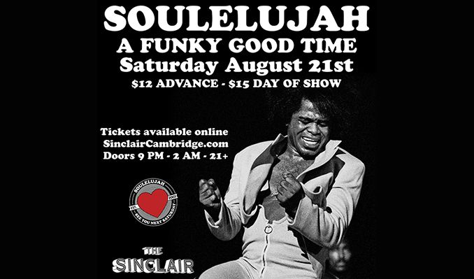 Soulelujah tickets at The Sinclair in Cambridge