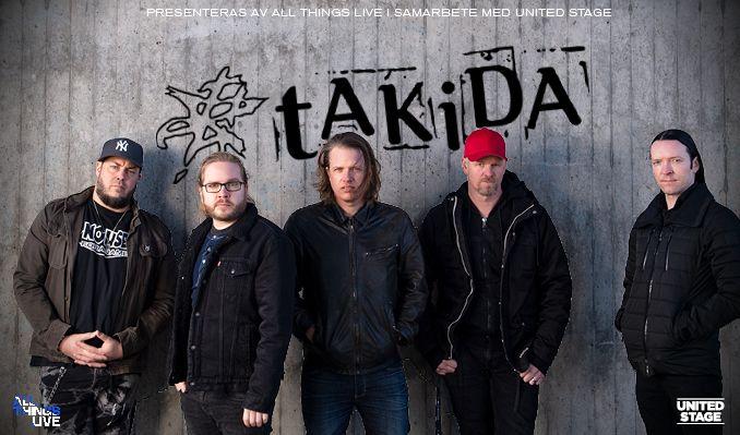 tAKiDA tickets at HOVET/Stockholm Live in Stockholm