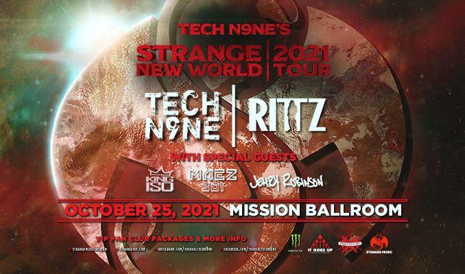Tech N9ne tickets at Mission Ballroom in Denver