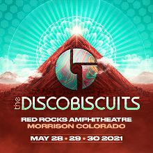 The Disco Biscuits 5/30 tickets at Red Rocks Amphitheatre in Morrison