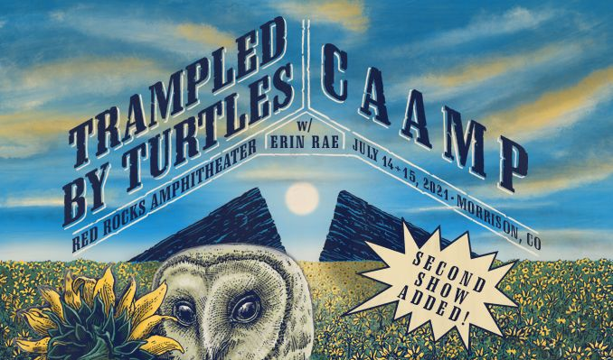 CAAMP / Trampled By Turtles tickets at Red Rocks Amphitheatre in Morrison