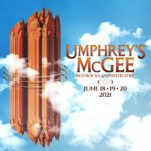Umphrey's McGee 6/18 tickets at Red Rocks Amphitheatre in Morrison
