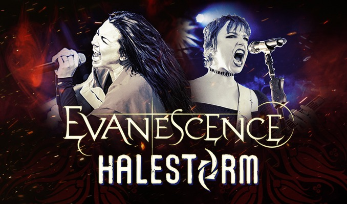 Evanescence + Halestorm tickets at Gas South Arena in Duluth