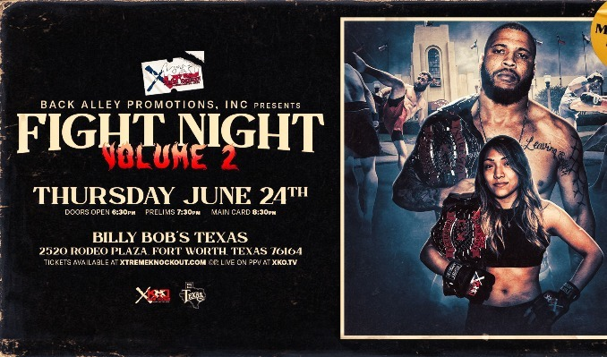 Xtreme Knockout MMA tickets at Billy Bob's Texas in Fort Worth