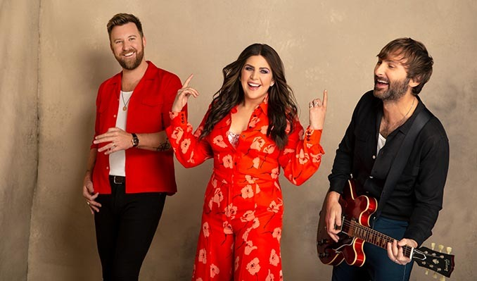 Lady A tickets at PromoWest Pavilion at OVATION in Newport