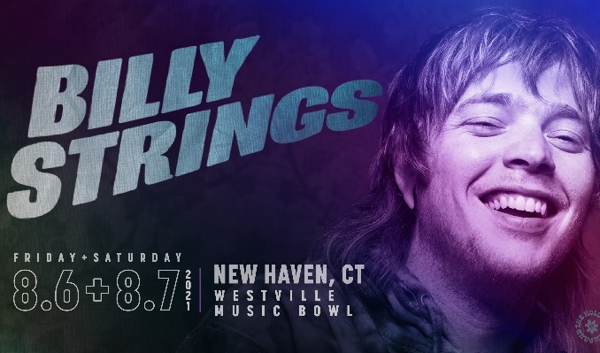 Billy Strings tickets at Westville Music Bowl in New Haven