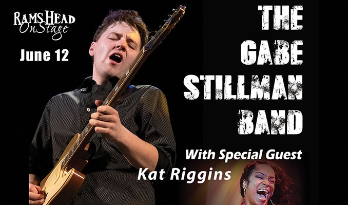 Gabe Stillman with special guest Kat Riggins tickets at Rams Head On Stage in Annapolis