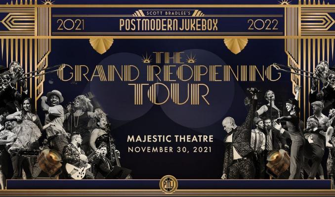 Scott Bradlee's Postmodern Jukebox tickets at Majestic Theatre in Dallas