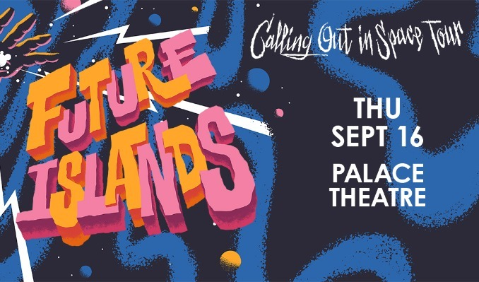 Future Islands tickets at Palace Theatre in St. Paul