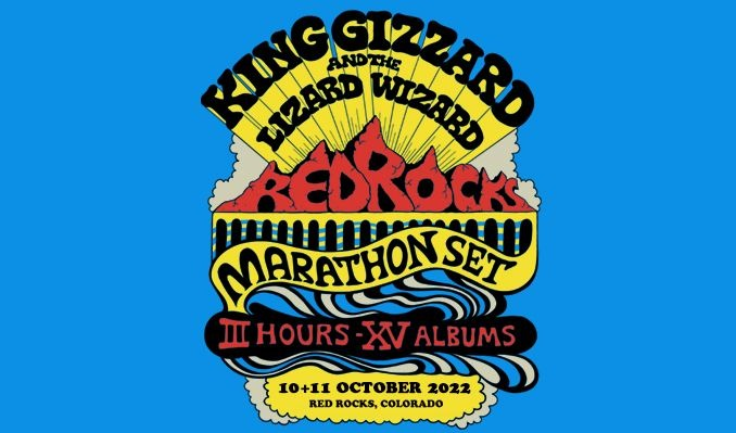 King Gizzard and the Lizard Wizard 10/11 tickets at Red Rocks Amphitheatre in Morrison