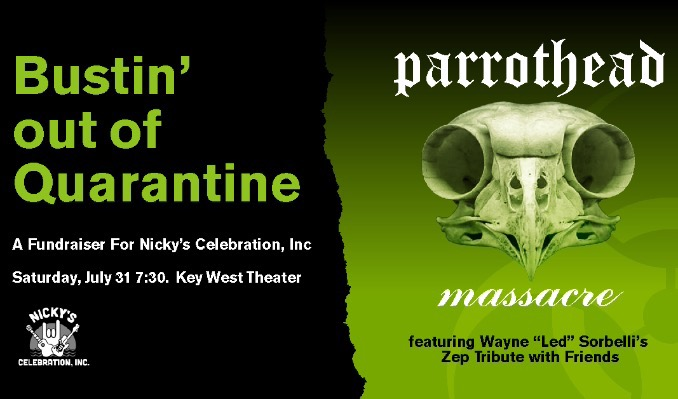 Parrothead Massacre tickets at Key West Theater in Key West