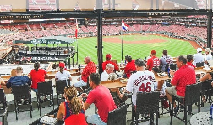 Bud Deck Baseball: Twins at Cardinals (7/30) tickets at Budweiser Brewhouse in St. Louis