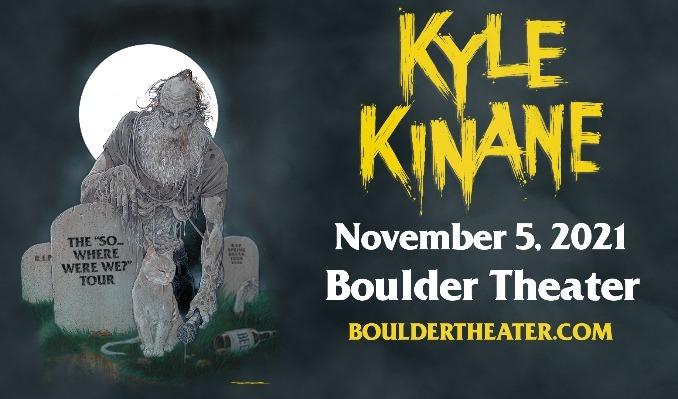 Kyle Kinane tickets at Boulder Theater in Boulder