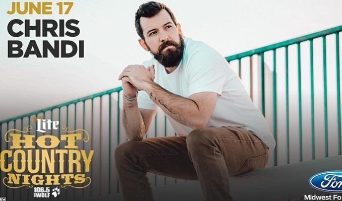 Miller Lite Hot Country Nights: Chris Bandi tickets at KC Live! in Kansas City