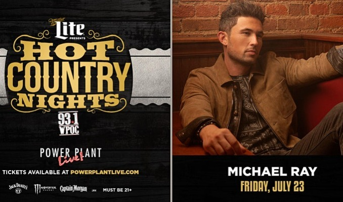 Miller Lite Hot Country Nights: Michael Ray tickets at Power Plant Live! in Baltimore