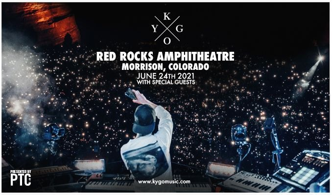 Kygo tickets at Red Rocks Amphitheatre in Morrison