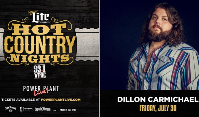 Miller Lite Hot Country Nights: Dillon Carmichael tickets at Power Plant Live! in Baltimore