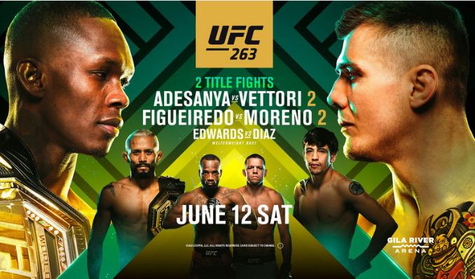 UFC 263: Adesanya vs. Vettori Fight Night tickets at Sports & Social Maryland in Hanover