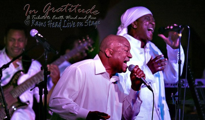 In Gratitude: A Tribute to Earth, Wind & Fire tickets at Rams Head On Stage in Annapolis