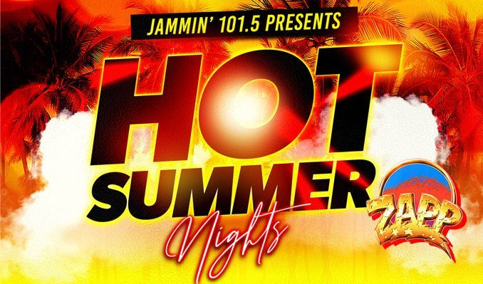 """Jammin 101.5's Hot Summer Nights : Zapp, Evelyn """"Champagne"""" King, Rose Royce tickets at Fiddler's Green Amphitheatre in Greenwood Village"""