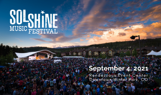 2021 SolShine Music Festival tickets at Rendezvous Event Center in Winter Park