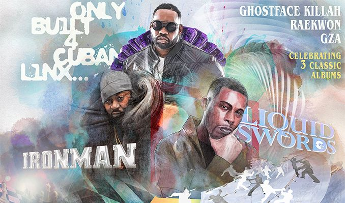 3 Chambers Tour: Raekwon x Ghostface Killah x GZA tickets at Terminal 5 in New York