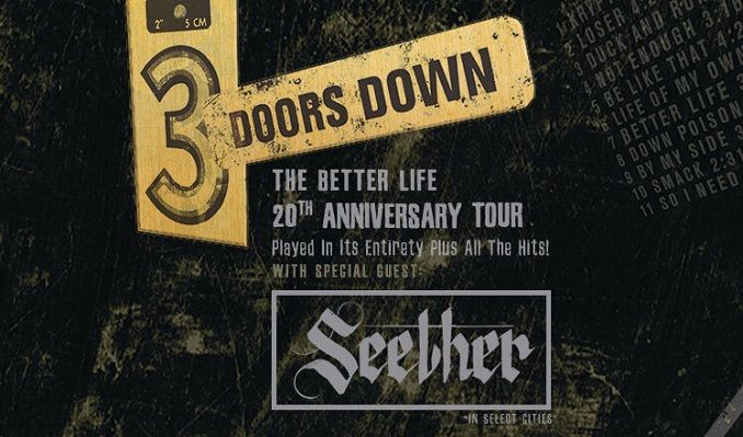 3 Doors Down  tickets at Bellco Theatre in Denver