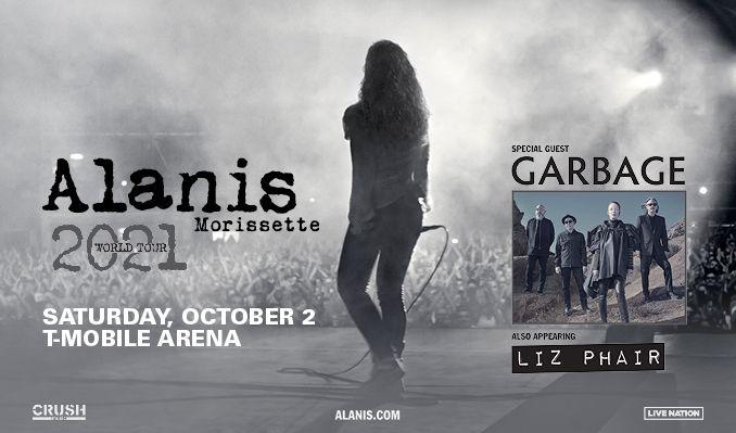 Alanis Morissette  tickets at T-Mobile Arena in Las Vegas