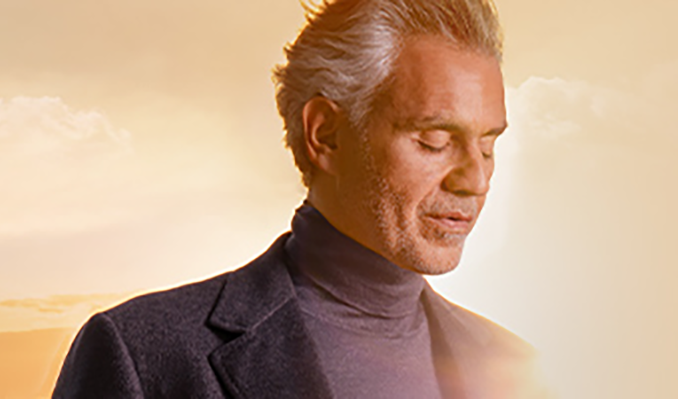 Andrea Bocelli tickets at M&S Bank Arena in Liverpool