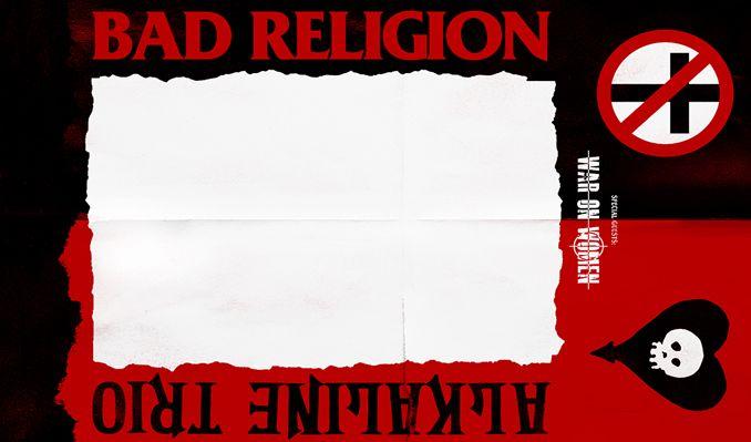 Bad Religion + Alkaline Trio tickets at The NorVa in Norfolk