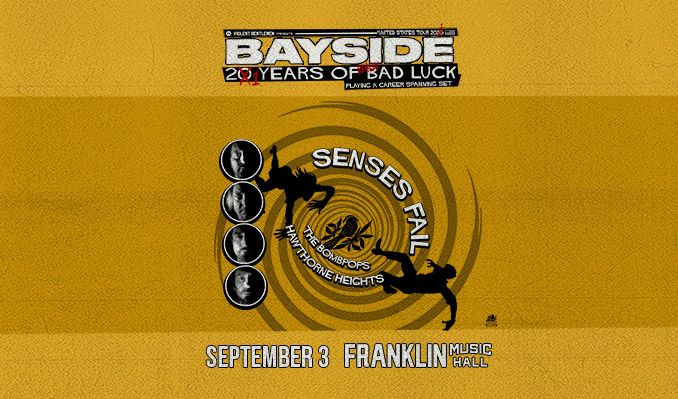 Bayside tickets at Franklin Music Hall in Philadelphia