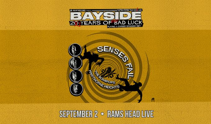 Bayside tickets at Rams Head Live! in Baltimore