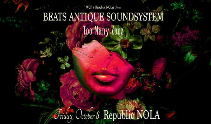 Beats Antique Soundsystem tickets at Republic NOLA in New Orleans