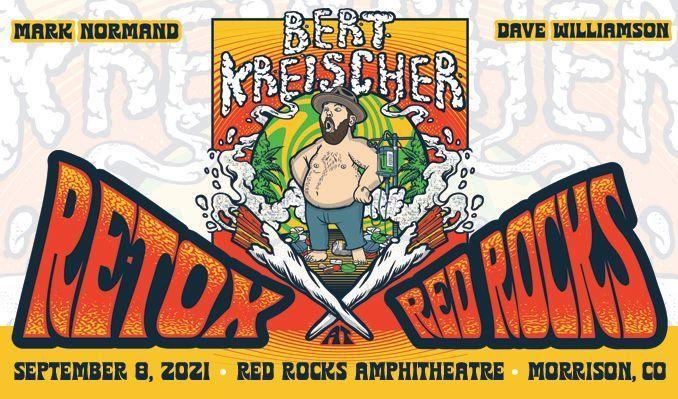 Bert Kreischer: ReTox at Red Rocks tickets at Red Rocks Amphitheatre in Morrison