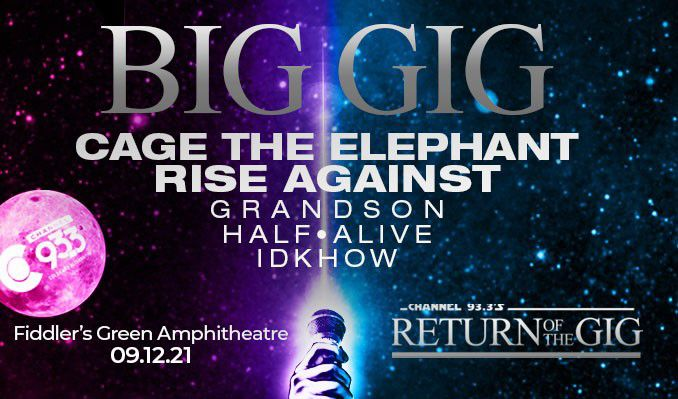 Big Gig - Cage the Elephant tickets at Fiddler's Green Amphitheatre in Greenwood Village