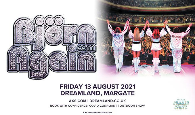 Björn Again tickets at Dreamland Margate in Margate