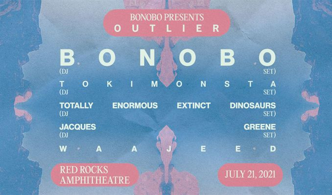Bonobo tickets at Red Rocks Amphitheatre in Morrison