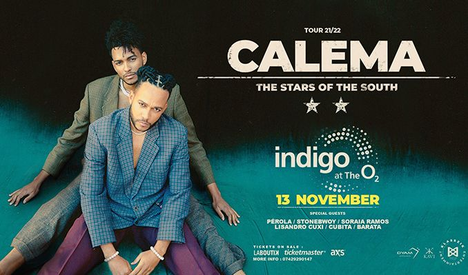 Calema & Friends tickets at indigo at The O2 in London