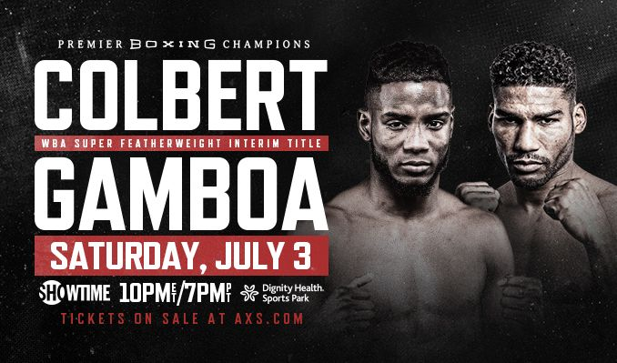 Colbert vs. Gamboa tickets at Dignity Health Sports Park in Carson
