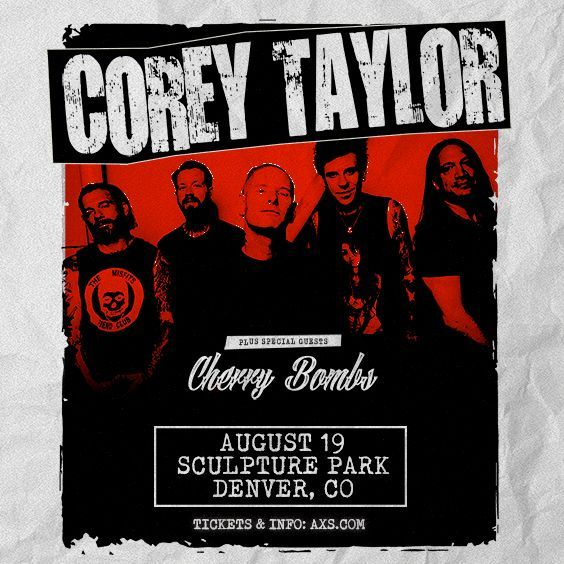 More Info for Corey Taylor