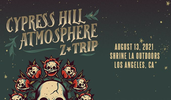 Cypress Hill & Atmosphere tickets at Shrine LA Outdoors in Los Angeles