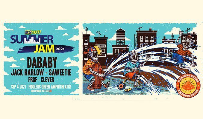 DaBaby tickets at Fiddler's Green Amphitheatre in Greenwood Village