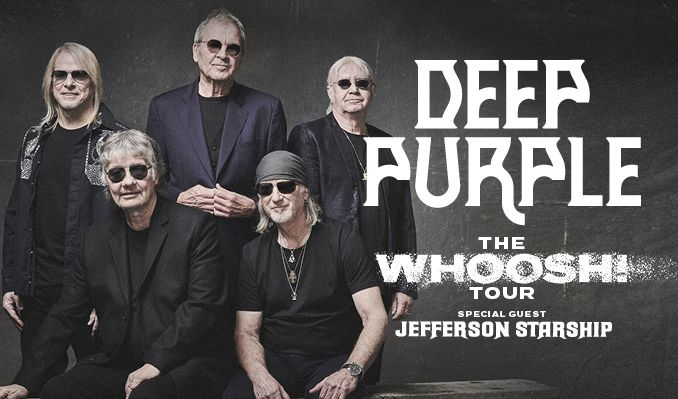 Deep Purple - NYTT DATUM tickets at Hovet in Stockholm