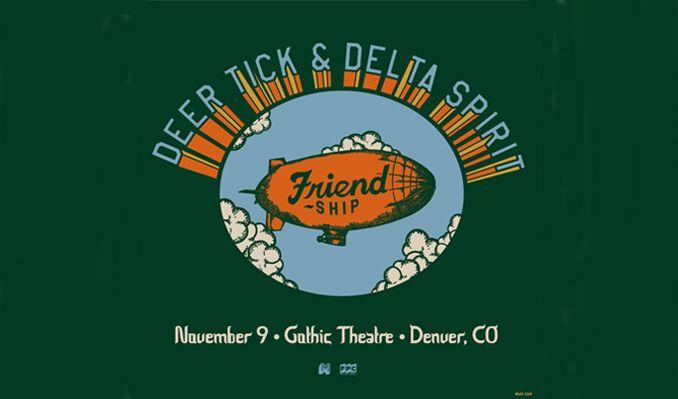 Deer Tick & Delta Spirit tickets at Gothic Theatre in Englewood