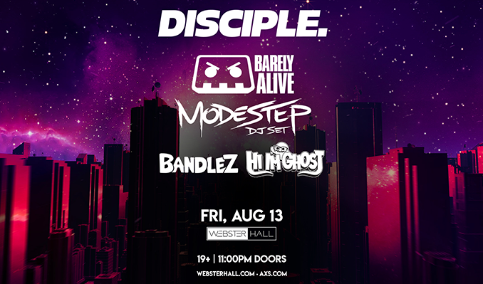 Disciple Takeover tickets at Webster Hall in New York