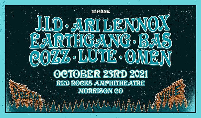 Dreamville on the Rocks tickets at Red Rocks Amphitheatre in Morrison