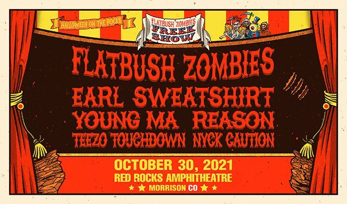 Flatbush ZOMBiES tickets at Red Rocks Amphitheatre in Morrison