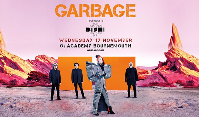 Garbage tickets at O2 Academy Bournemouth in Boscombe